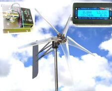Wind Turbine 5KT Blade GHOST 1000W / 3.75KW 12 volt DC 2-wire W-FREE REG METER