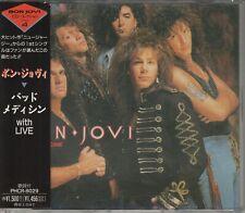 Bon Jovi  CD-SINGLE  BAD MEDICINE  ©   1986/88   JAPAN