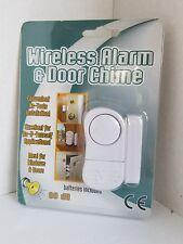 wireless alarm & door chime for windows & doors