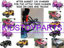 12V Battery Charger LITTLE TIKES HUMMER H2 TRUCKS AND CARS