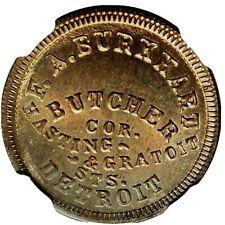 1864 Detroit, Mich Civil War Store Card R-9 Cn Ngc