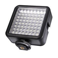 walimex pro LED-Videoleuchte 64 LED dimmbar für GoPro Hero, Camcorder und DSLR