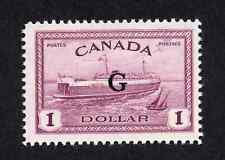 Canada #O25 $1.00 Train Ferry Peace Issue Overprinted G MNH
