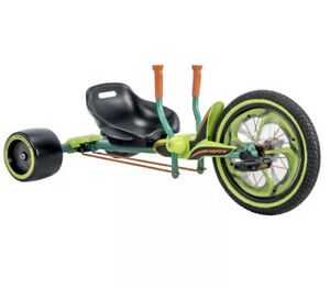 Huffy Green Machine 16 Inch 40cm Trike Dual stick steering