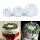 Fondant Cake Cutter Plunger Cookie Mold Sugarcraft Flower Decorating Mould Tool