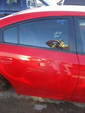 2011-2016 Dodge Charger Passenger Right Rear Door Assembly Red Code PR3