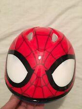 Marvel Amazing Spiderman Child's Toddler Bike Helmet