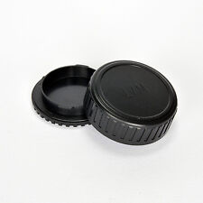LEICA M FITTING BODY AND REAR LENS CAP LEICA CL MINOLTA CLE