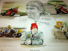 JOEY DUNLOP THE MAN ISLE OF MAN TT ULSTER NORTH WEST 200 F1 SUPERBIKE HONDA