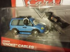 DISNEY PIXAR CARS CHUCK CHOKE CABLES DELUXE 2014 SAVE 5% WORLDWIDE FAST SHIP