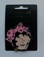 Betty Boop Plastic Head Shapped Pin Back Button  Vintage 1990/'s