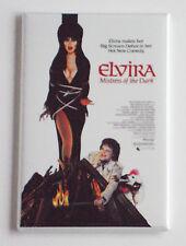 Elvira Mistress of the Dark Fridge Magnet (2 x 3 inches) movie poster halloween