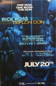 RICK ROSS POSTER TEFLON DON (A7)