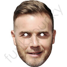 Gary Barlow - Take That - Celebrity Card Mask. All Our Masks Are Pre-Cut!***