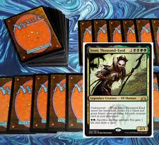 mtg BLACK GREEN GOLGARI IZONI COMMANDER EDH DECK Magic the Gathering rare cards