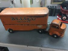 VERY RARE ALLIED VAN LINES NATION WIDE MOVING VINTAGE TOY FROM 50S