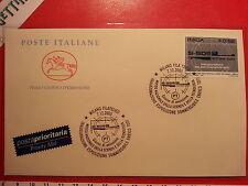 Busta F.D.C. 7.12.2005 Milano INAUGURAZIONE ESPOSIZIONE SOMMERGIBILE ENRICO TOTI