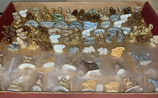Mixed Lot 87 Wade England Whimsy Red Rose Tea Figurines Animals Nautical Pet