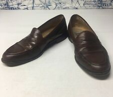 Johnston & Murphy Penny Loafers Brown Leather Men's 11M