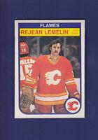 Rejean Lemelin 1982-83 O-PEE-CHEE Hockey #50 (NM)