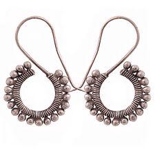 tribe Pure Silver Handmade Earrings Karen Hill