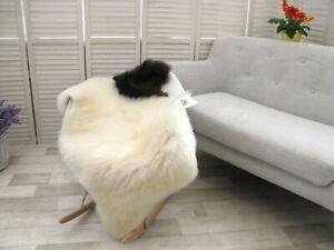 Sheepskin Rug Genuine British JACOB Real Soft Dense Fur Natural Shaggy Rug J68