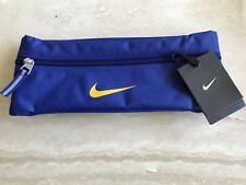 **SALE**NIKE BUM BAG WAIST PACK BLACK TRAVEL BUMBAG MONEY CASH GYM WORKOUT BELT
