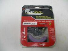 "PS52 Power Sharp Chainsaw Chain & Stone Sharpener 14"" Bar Craftsman, Homelite"