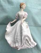 Homco Home Interiors Masterpiece Porcelain Lady Caroline Lady Figurine 1993