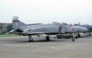 original 35mm Aircraft slide   XT903 (X) 23Sqd Phantom FGR.2 Wattisham 1981