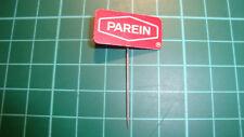 Parein biscuits stick pin badge 60's lapel speldje Dutch anstecknadel