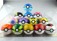 13PCS Pokemon pikachu Pokeball Cosplay Pop-up Master Ultra GS poke BALL Toy set