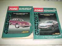 Chilton Ford Taurus Mercury Sable 1986-1992 Contour Cougar 1995-99 Repair Manual
