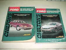 Chilton Ford Taurus Mercury Sable 1986-1992 Contour Cougar 1995-99 Repair Manual