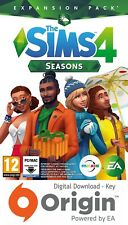 THE SIMS 4 SEASONS EXPANSION PACK PC AND MAC ORIGIN KEY