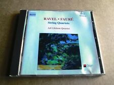 Ravel/Faure - String Quartets - Ad Libitum Quartet - Unplayed CD