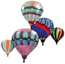 Balloons In Flight Metal Wall Art Decor Sculpture- Bovano of Cheshire #W680-New!