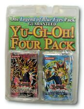 RARE Yu-Gi-Oh! Four Pack ~ New Sealed ~ 4 x Packs ~ Set NIB Collectors Item