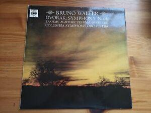 CBS BRG 72097. Dvorak: Symphony No.4. Bruno Walter. EX/NM. Fast Post!