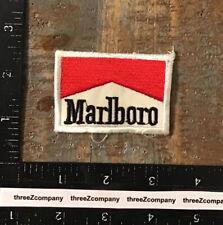 Vintage Marlboro Cigarettes Smoking Advertising Logo Patch