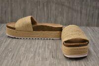 Dirty Laundry Palm Desert Platform Slide Sandal - Women's Size 8.5, Natural