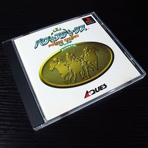 Power Stakes PS1 SONY PlayStation Game JAPAN Import NTSC-J Mint #200-5