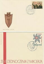 Poland FDC (Mi. 1999-00) Day of the victory #2