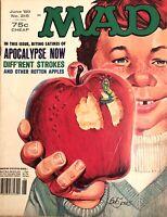 "MAD Magazine  #215 - June 1980 - Featuring ""Apocalypse Now"" Parody ~ NM-"