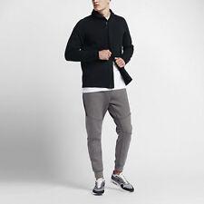 Nike Men's NSW Tech Fleece Jacket Sweatshirt 805164 010 BLACK Zip Up 2XL XXL