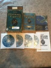 Baldur's Gate II 2 Shadows of Amn Big Box PC Windows CD-ROM COMPLETE