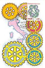 Cartolina Maximum - 50° del Rotary Italiano - 1973