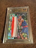 Kristaps Porzingis 2015-16 Totally Certified Fabric of the Game Camo /25 BGS 9.5