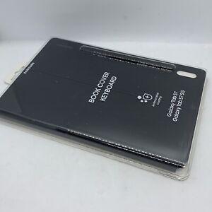 Genuine Samsung Book Cover Keyboard Case For Galaxy Tab S7 Black EF-DT870