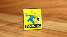 Symantec Corporation software company Vintage Collectible Rare Promo Pin Badge